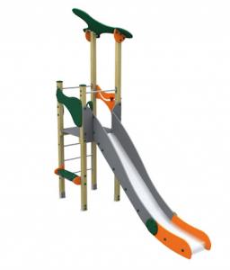 Spielturm MODERN I mit Rutsche