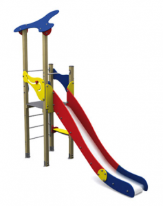 Spielturm KLASSIK I mit Rutsch