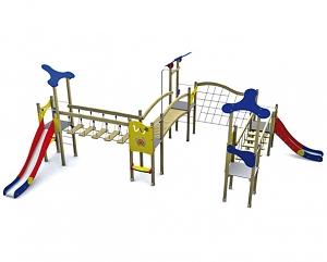 Spielanlage KLASSIK VI mit Br�
