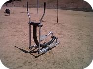 Fitness-Element für draußem