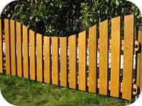 Holz-Zaun